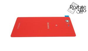 SONY-Z3-compact-kryt-baterie-červený