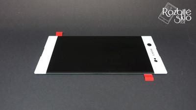 SONY-XA1-Ultra-LCD-displej-s-dotykem-bila