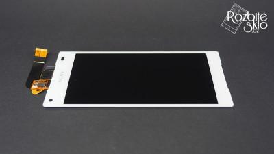 SONY-Z5-Compact-LCD-s-dotykem-bila-original