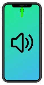 Výměna sluchátka iPhone 11