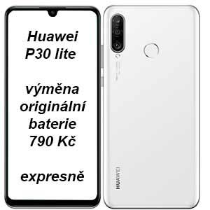 Huawei P30 lite výměna baterie