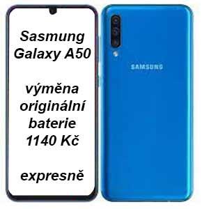 Samsung Galaxy A50 výměna baterie