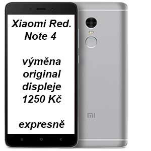 Xiaomi Redmi Note 4 výměna displeje