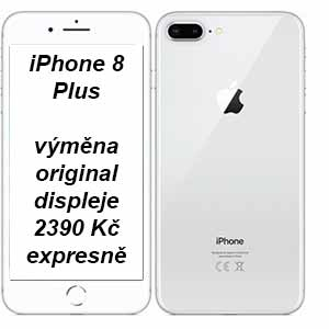 Výměna displeje iPhone 8 Plus