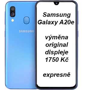 Oprava Samsung Galaxy A20e výměna displeje