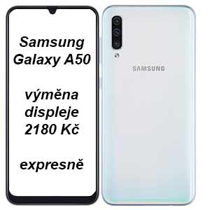 Galaxy A50 výměna displeje